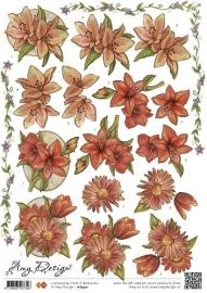 HJ9501 Amy Design - Vintage bloemen