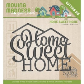 Die - Yvonne Creations - Moving Madness - Home Sweet Home  YCD10098