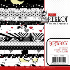 Paperpack - Yvonne Creations - Petit Pierrot YCPP10030