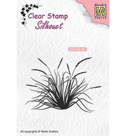 SIL057 - Blooming grass-2