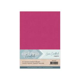 Linen Cardstock - A5 - Magenta 67