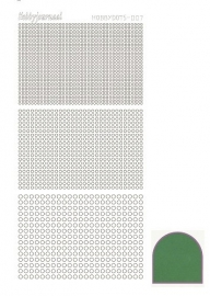 Hobbydots sticker serie 7 - Mirror - Green