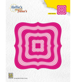 MFD132 - Stiched Braced squares  108x108mm