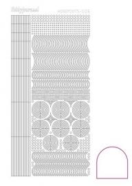 Hobbydots sticker - Adhesive - White  nr.6