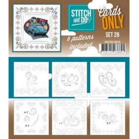 Stitch & Do - Cards only - Set 28