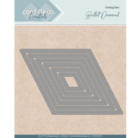 Card Deco Essentials - Nesting Dies - Bullet Diamond  CDECD0095