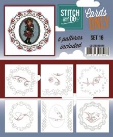 Stitch & Do - Cards only - Set 16