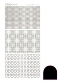Hobbydots sticker serie 7 - Adhesive - Black