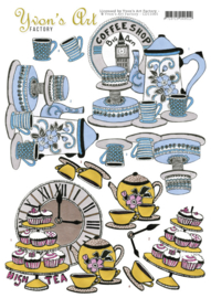 Yvon's Art Factory - High Tea  CD11065