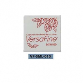 Versafine ink pads small 'Satin Red' 010