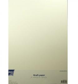 Kraftpapier A4 Wit  10 vel