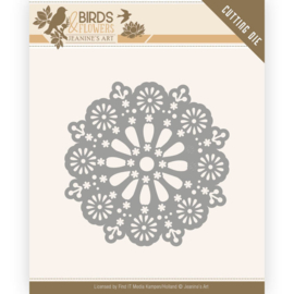 Dies - Jeanine's Art - Birds and Flowers - Daisy Circle   JAD10060