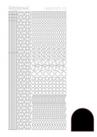 STDA113 Hobbydots sticker - Adhesive - Black