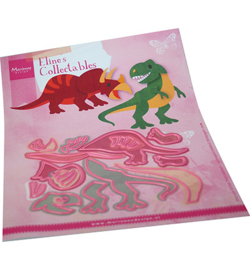 COL1499 - Eline's Dinosaurs  14 pcs, 112 x 91 mm