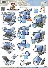 CD10343 3D Knipvel - Yvonne Creations - Men - Electronica