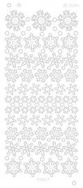 Snowflakes Platinum zilver  CD3094