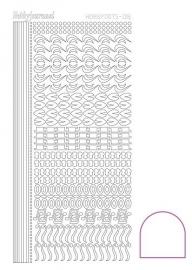 STDA180 Hobbydots sticker - Adhesive White