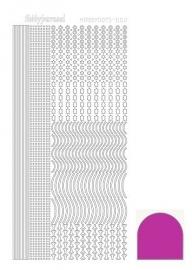 Hobbydots sticker - Mirror Pink  2