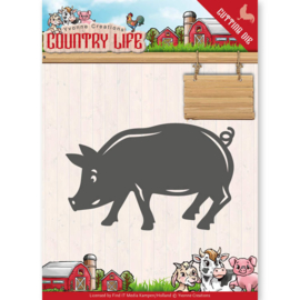 Dies - Yvonne Creations - Country Life Pig   YCD10130