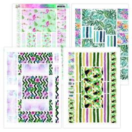 Printed Figure Cards - Yvonne Creations - Happy Tropics  YCFC20002