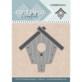 Card Deco Essentials - Mini Dies - Birdhouse  CDEMIN10012