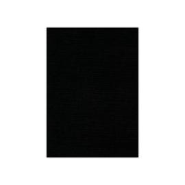 Linnenkarton - A4 - Zwart  31