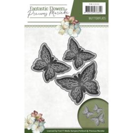 Die - Precious Marieke - Fantastic Flowers - Butterflies  PM10095