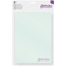 Gemini Accessoires A4 - Transparante snijplaten voor dubbelzijdige snijmallen  GEM-ACC-DSDP