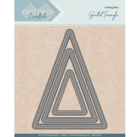 Card Deco Essentials - Nesting Dies - Bullet Triangle  CDECD0096