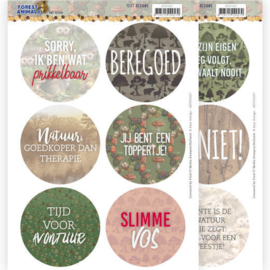 Tekst Designs - Amy Design Forest Animals (NL)  ADTD1007