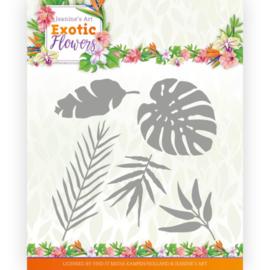 Dies - Jeanine's Art - Exotic Flowers - Exotic Leafs  JAD10132
