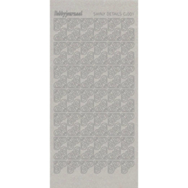 Shiny Details Corners 1 - Zilver   SDSC001TZ