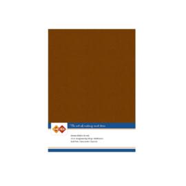 Linnenkarton - A5 - Brown  LKK-A558