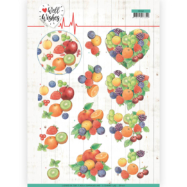 3D Cutting sheet - Jeanine's Art - Well Wishes - Fruits  CD11460