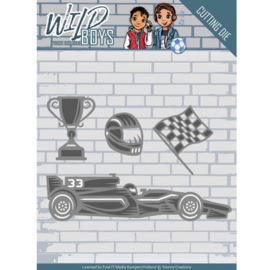 Die - Yvonne Creations - Wild Boys - Racing   YCD10117