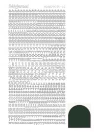 STDMLCJ Hobbydots sticker - Mirror - Christmas Green