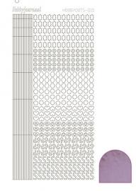 Hobbydots sticker 10 - Mirror - Candy