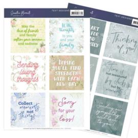 Text Designs - Jeanine's Art - Sensitive Moments (EN) JATD1002