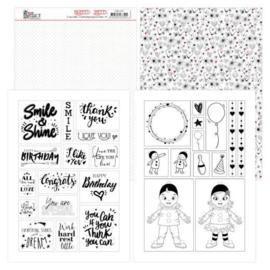 Mica Sheets - Yvonne Creations - Petit Pierrot  YCMC1007
