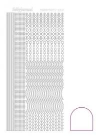 Hobbydots sticker - Adhesive - White nr.2