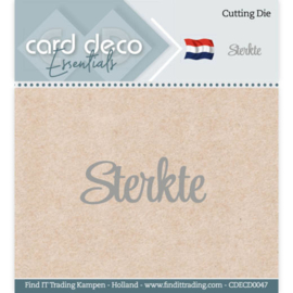 Card Deco Essentials - Cutting Dies - Sterkte CDECD0047