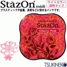 Stazon Midi Cherry Pink