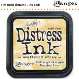 Tim Holtz distress ink pad scattered straw 21483