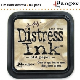 Tim Holtz distress ink pad old paper 19503