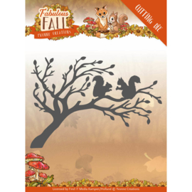Dies - Yvonne Creations - Fabulous Fall - Squirrels   YCD10148