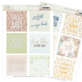 Tekst Designs - Yvonne Creations - Newborn  YCTD1005