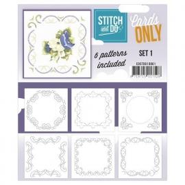 Stitch & Do - Cards only - set 1