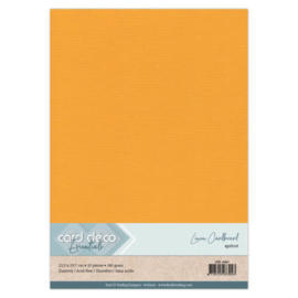 Linen Cardstock - A4 - Apricot 65