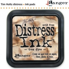 Tim Holtz distress ink pad tea dye 19510