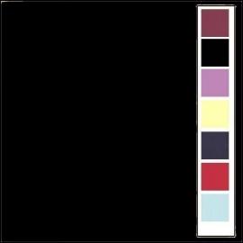 Linnenkarton - Vierkant - Zwart  31